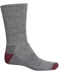Woolrich Midweight Ten Mile Day Hiker Socks - Gray