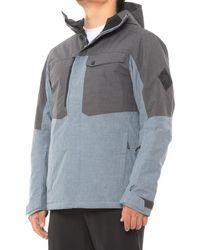 Salomon Ashley Blue/ebony Powderstash Jacket
