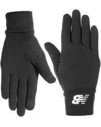 New Balance - Heavyweight Grid Fleece Gloves (for Men And Women) - Lyst