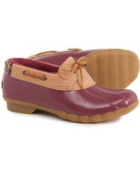 Sperry Top-Sider Saltwater 1-eye Duck Shoes - Multicolor