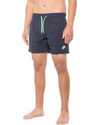 Trunks Surf & Swim Stretch Volley Swim Trunks - Blue