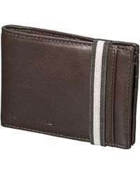 James Campbell - Leather Slim Bifold Wallet (for Men) - Lyst