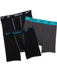 Reebok Performance-cooling Boxer Briefs - Black