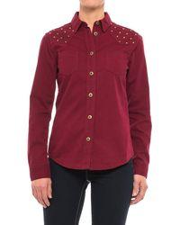 Stetson - Studded Twill Shirt - Lyst