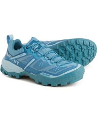 Mammut Ducan Low Gore-tex(r) Hiking Shoes - Blue
