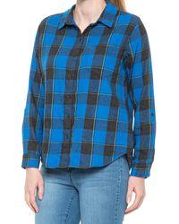 Prana Alfie Flannel Shirt - Blue