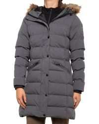 Kamik Cicely Long Puffer Jacket - Gray