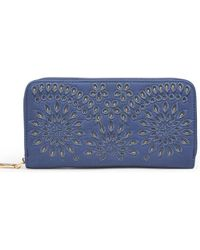 Urban Expressions Beckette Wallet - Blue