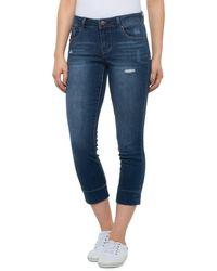 1822 Denim Sublime Heritage Crop Skinny Jeans - Blue