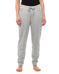 CALIDA Stretch Cotton Jersey Sweatpants (for Women) - Gray