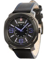 Wenger - Escort Edge Analog Swiss Quartz Watch - Lyst