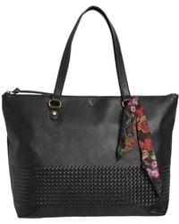 Elliott Lucca Large Waverly Shopping Tote Bag - Black