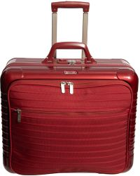 "Rimowa 18.5"" Salsa Deluxe Hybrid 50 Business Trolley Rolling Suitcase - Red"