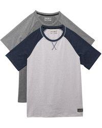 Eddie Bauer Crew Neck T-shirt - Gray