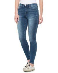 Nicole Miller Dream Skinny Jeans - Blue