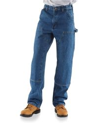 Carhartt - B73 Washed Logger Double-front Work Jeans - Lyst