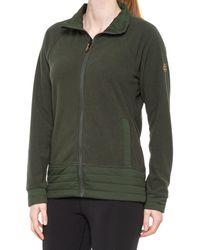 686 Quilted Fleece Jacket - Green
