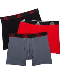 adidas Sport-performance Boxer Briefs - Black