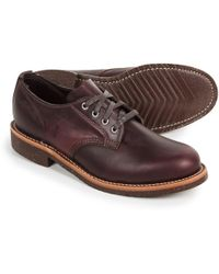 Chippewa - General Utility Service Oxford Shoes - Lyst