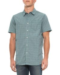 b5623e7b5 The North Face Shadow Gingham Ss Shirt in Blue for Men - Lyst