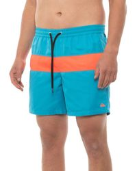Quiksilver Panel Volley Boardshorts - Blue