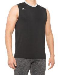 Mizuno Cutoff Jersey Shirt - Black