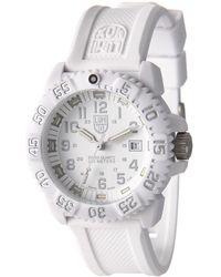 Luminox - Steel Colormark Tritium Illumination Watch - Lyst