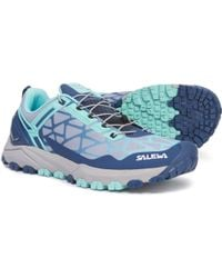 Salewa Multi Track Trail Running Shoes - Blue