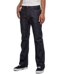 Mountain Khakis Dark Wash 307 Lined Classic Fit Jeans - Blue