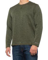G.H. Bass & Co. Jacquard Diamond-quilted Crew Shirt - Green