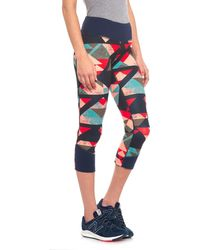The North Face - Pulse Mid- Rise Crop Leggings (for Women) - Lyst