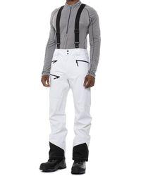 Salomon Outlaw 3 L Ski Bib Pants - White