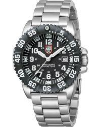 Luminox - Navy Seal Steel Colormark Watch - Lyst