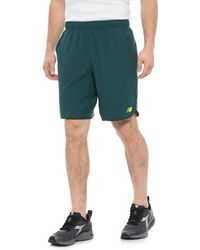 4cdc159fc1583 Lyst - New Balance 9 Inch Tournament Short in Black for Men