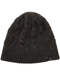Chaos Trisha Cable-knit Beanie (for Women) - Black