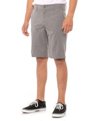 32 Degrees Stretch Melange Shorts - Gray