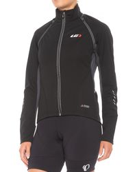 Louis Garneau Spire Polartec(r) Power Shield(r) Convertible Cycling Jacket - Black