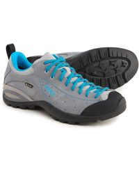 Asolo Made In Europe Shiver Gv Gore-tex(r) Hiking Shoes - Blue