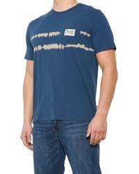 Howler Brothers Dazed Horizon Pocket T-shirt - Blue