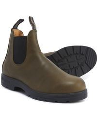 Super 550 Series Pull on Chelsea Boots Green