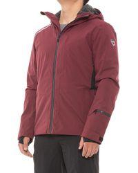 Rossignol Cadran Primaloft(r) Ski Jacket - Red