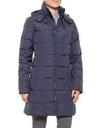 Schott Nyc 3/4 Down Jacket - Blue