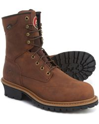 01359844a04fa Wolverine Rubber Snyder Wpf Logger Steel Toe Eh Work Boot in Brown ...