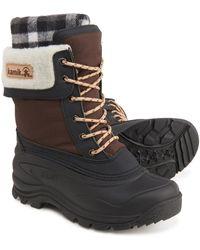 Kamik Sugarloaf Snow Boots - Brown