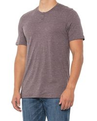 Smartwool Everyday Explorer Henley Shirt - Purple