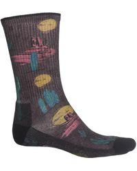 Smartwool Hike Light Desert Solitaire Print Socks - Multicolor