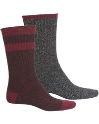 Frye Striped Boot Socks - Black
