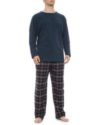 Woolrich - Plaid Flannel Pajamas - Lyst