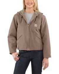 Carhartt Wj141 Sierra Sherpa-lined Jacket - Multicolor