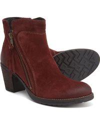 Taos Footwear Made In Portugal Dillie Booties - Brown